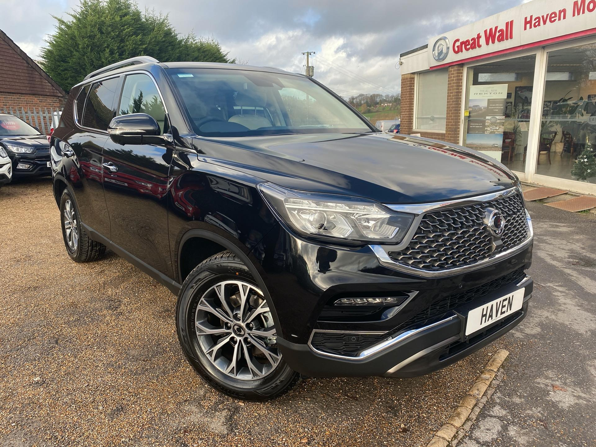 SsangYong Rexton 2.2 ULTIMATE 2020 MODEL Estate Diesel Black