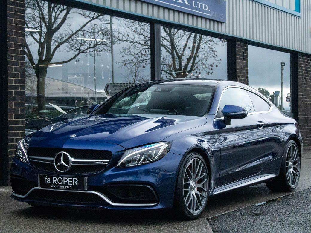 Mercedes-Benz C Class C63 S 4.0 V8 BiTurbo Premium Auto 510ps Coupe Petrol Brilliant Blue Metallic