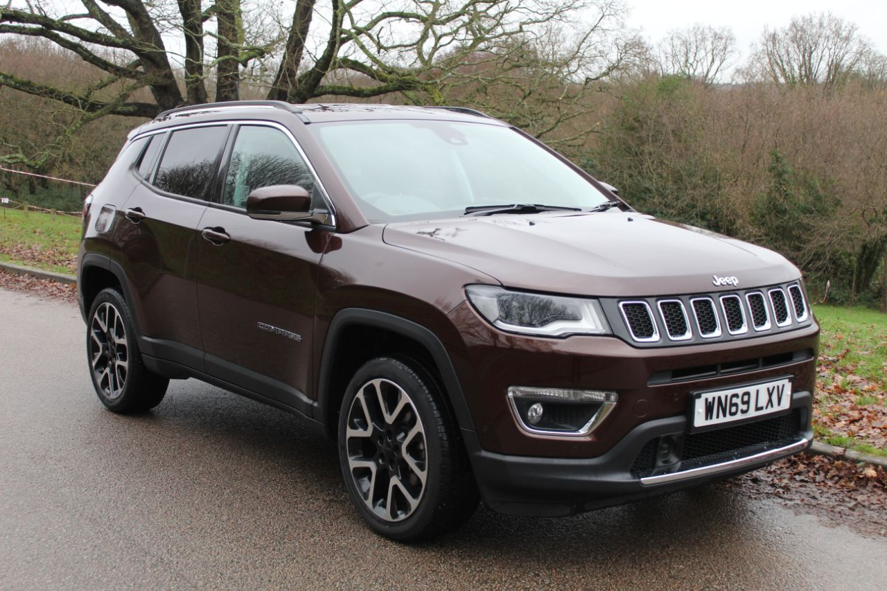 Jeep Compass 1.4 [170] Petrol Limited 4x4 9 Speed Automatic Four Wheel Drive Petrol Bronze at Horsham Car Centre Horsham