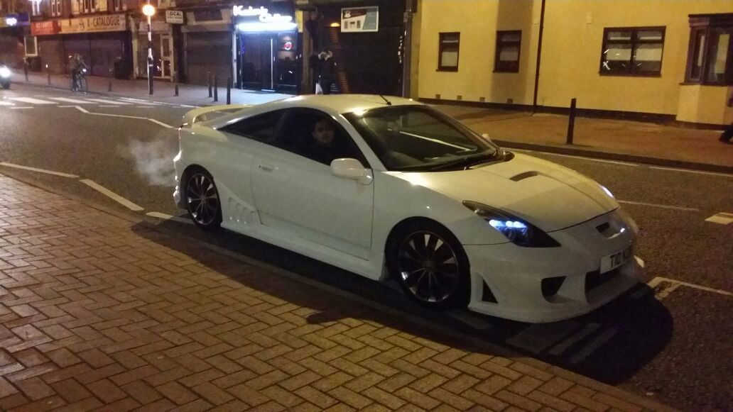 Used toyota celica cars second hand toyota celica for Premier garage derby