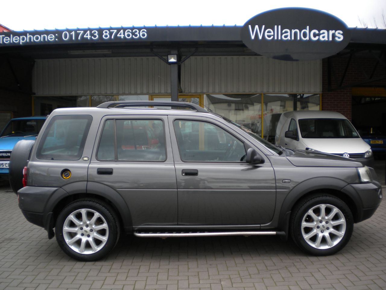 Land Rover Freelander 2.0 Td4 Sport Premium Station Wagon 5dr, F/S/H, Heated Leather Seats,18`Alloys New Tyres Estate Diesel Grey at Welland Cars Shrewsbury