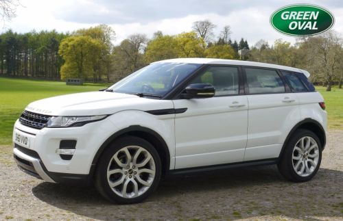 Land Rover Range Rover Evoque 2.2 SD4 DYNAMIC - ** VAT qualifying ** Estate Diesel White
