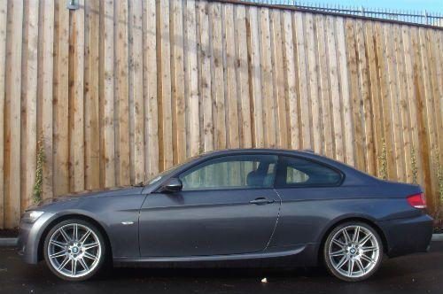 BMW 3 Series 3.0 325D M SPORT Coupe Diesel Grey
