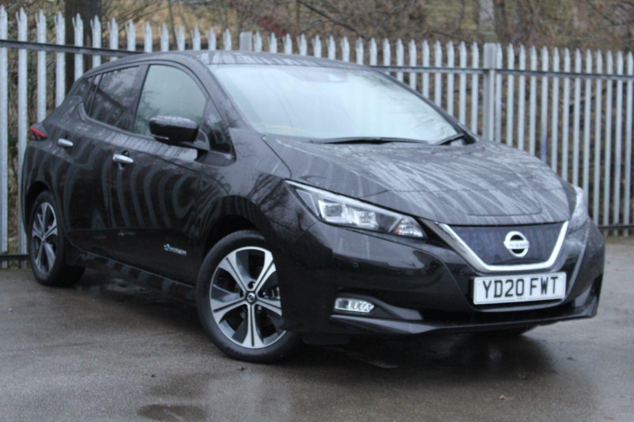 Nissan Leaf 0.0 110kW Tekna 40kWh 5dr Auto Hatchback Electric Black