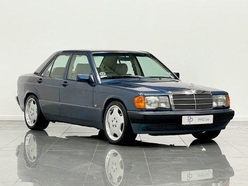 Mercedes-Benz 190 E 2.0 Automatic Saloon Petrol Metallic Blue