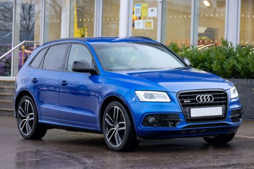 Audi Q5 0.0 SQ5 Plus Quattro 5dr Tip - Adaptive cruise control Estate Diesel Sepang Blue