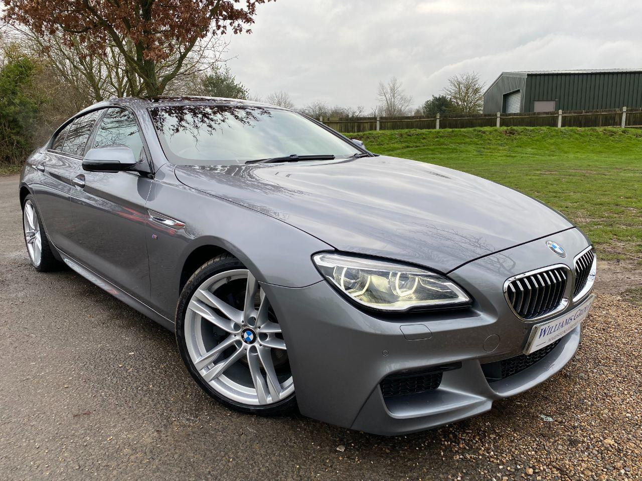 BMW 6 Series 3.0 640d M Sport 4dr Auto (20in Alloys! Sunroof! HUD! +++) Coupe Diesel Space Grey Metallic
