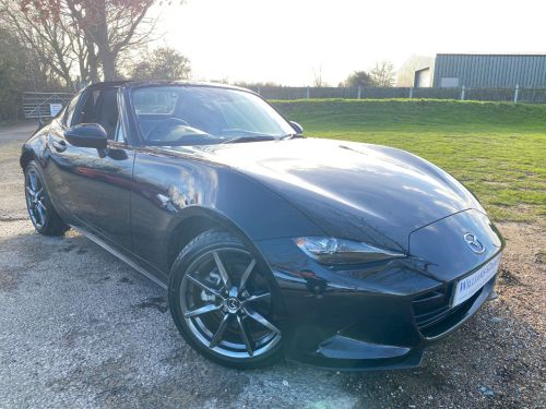 Mazda MX-5 2.0 Sport Nav 2dr Auto (1 Owner! Low Miles! +++) Convertible Petrol Jet Black Mica