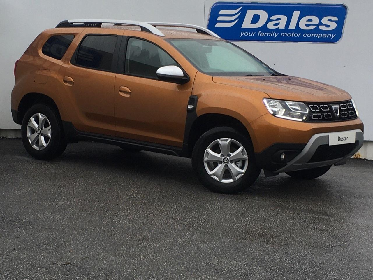 Dacia Duster 1.3 Comfort TCE 130 4X2 Hatchback Petrol Orange