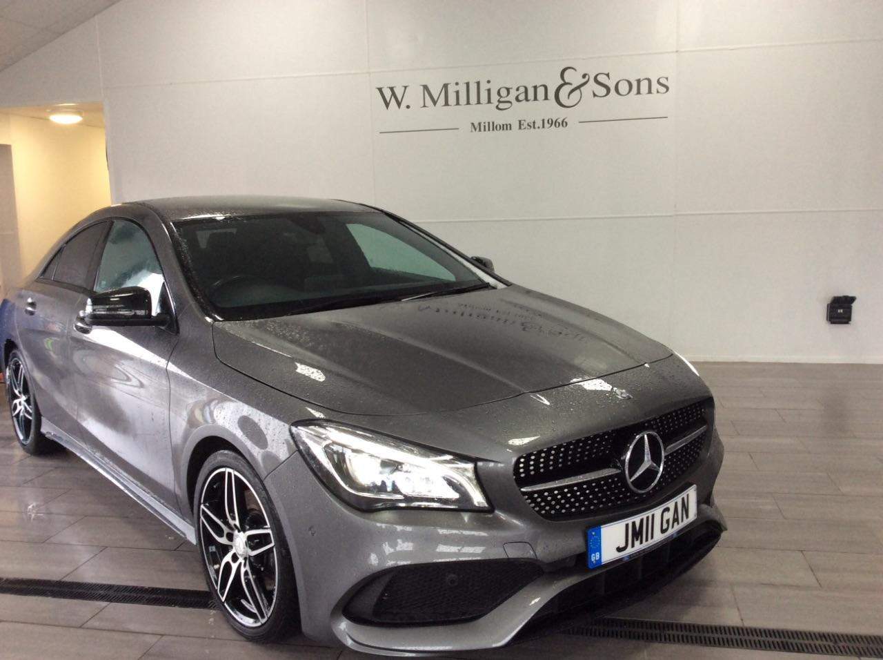 Mercedes-Benz Cla Class 2.1 CLA 220d AMG Line 4dr Tip Auto Saloon Diesel Grey