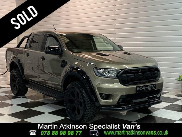 Ford Ranger MA-SV Pick Up Double Cab 1 2.0 EcoBlue 170 Auto Pick Up Diesel Diffused Silver