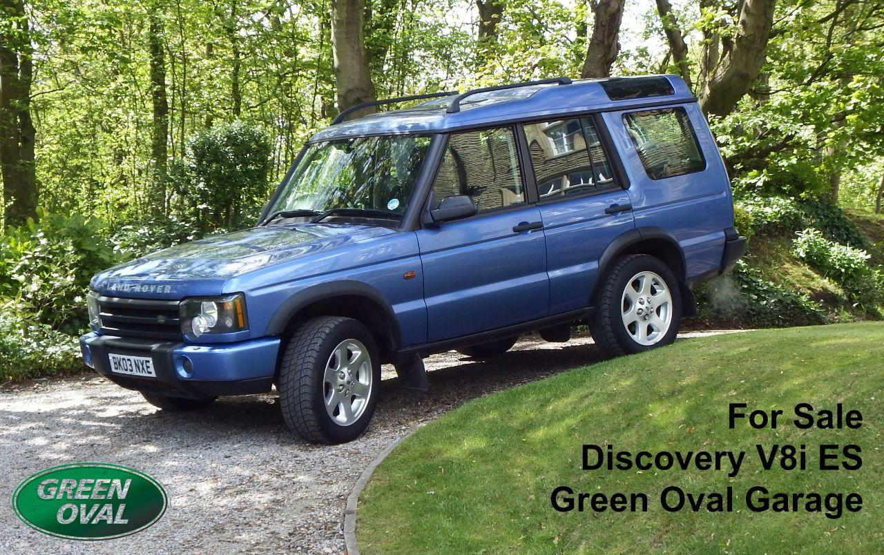 Land Rover Discovery 4.0 V8I ES - Finance Available Estate Petrol Monte Carlo Blue