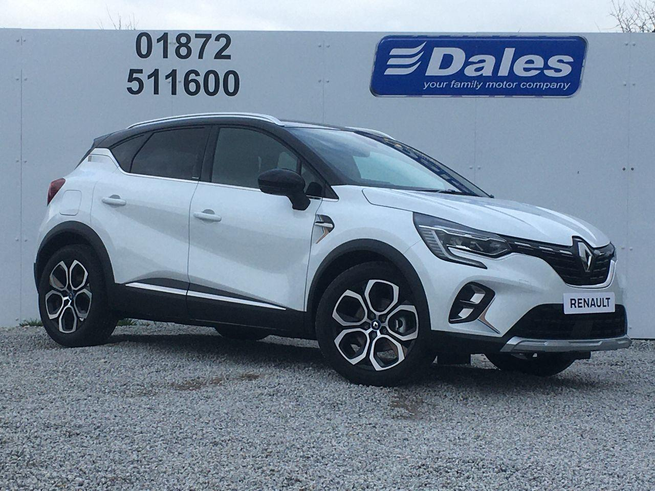 Renault Captur 1.3 E-TECH Launch Edition Plug-in Hybrid 160 Auto SUV Petrol / Electric Hybrid White/Black Roof