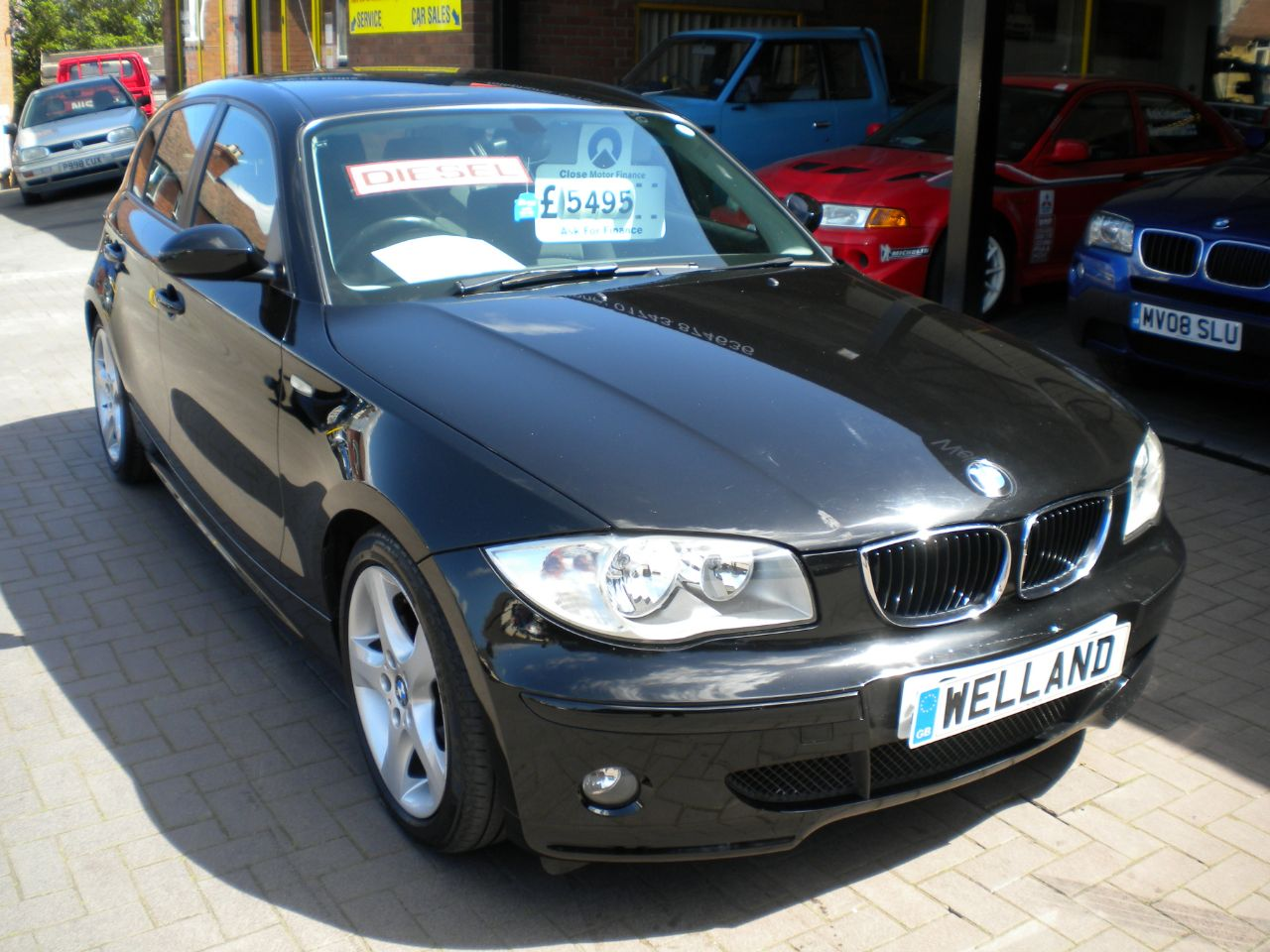 second hand bmw 1 series 118d sport 5dr turbo diesel 6 speed manual f bmw sh 2 owners 17 alloys. Black Bedroom Furniture Sets. Home Design Ideas