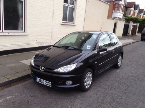 Peugeot 206 1.4 LOOK HATCHBACK PETROL BLACK