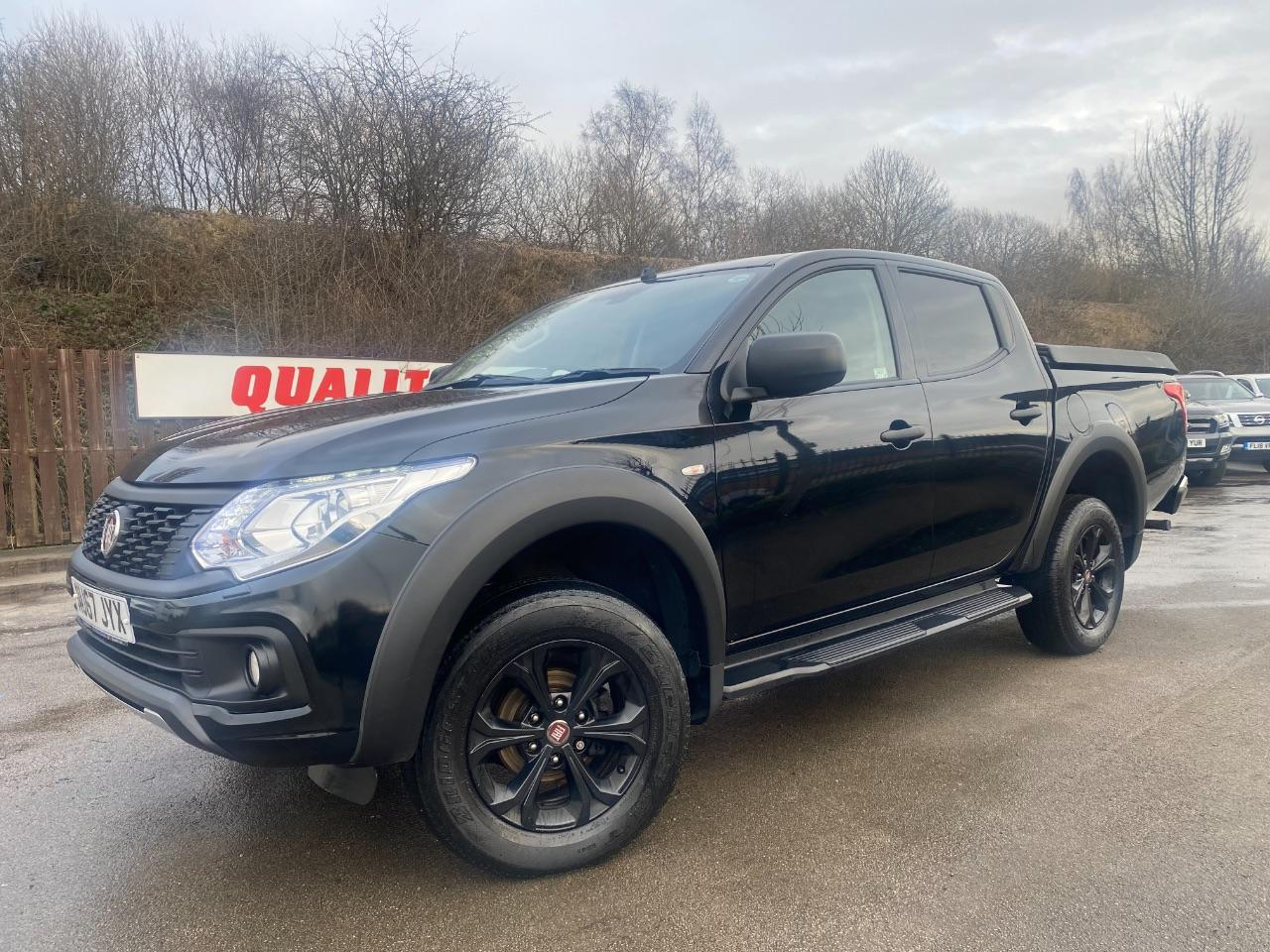 Fiat Fullback 2.4 180hp Cross Double Cab Pick Up Pick Up Diesel Black