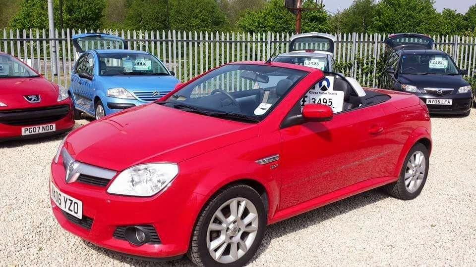 Vauxhall Tigra 1.4 16V SPORT Convertible Petrol Red