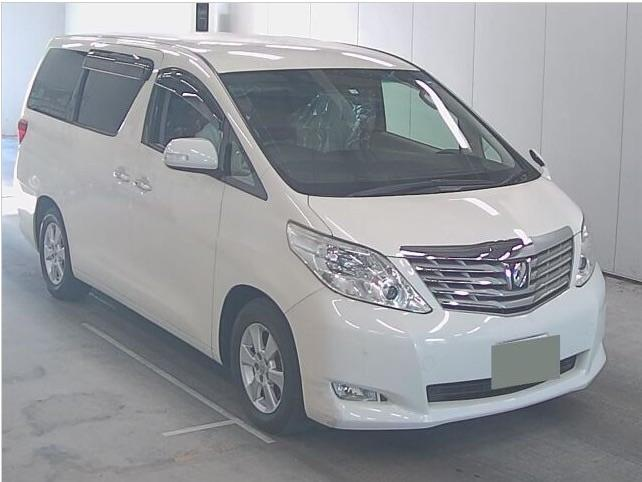 Toyota Alphard NEW SHAPE 2.4 Mistral Campervan Motorhome Petrol Pearlescent Whie