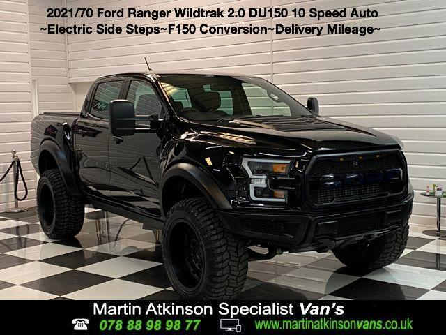 Ford Ranger DU150 F-SERIES STYLED Wildtrak 2.0 EcoBlue 213PS 10 Speed Auto Pick Up Diesel Shadow Black