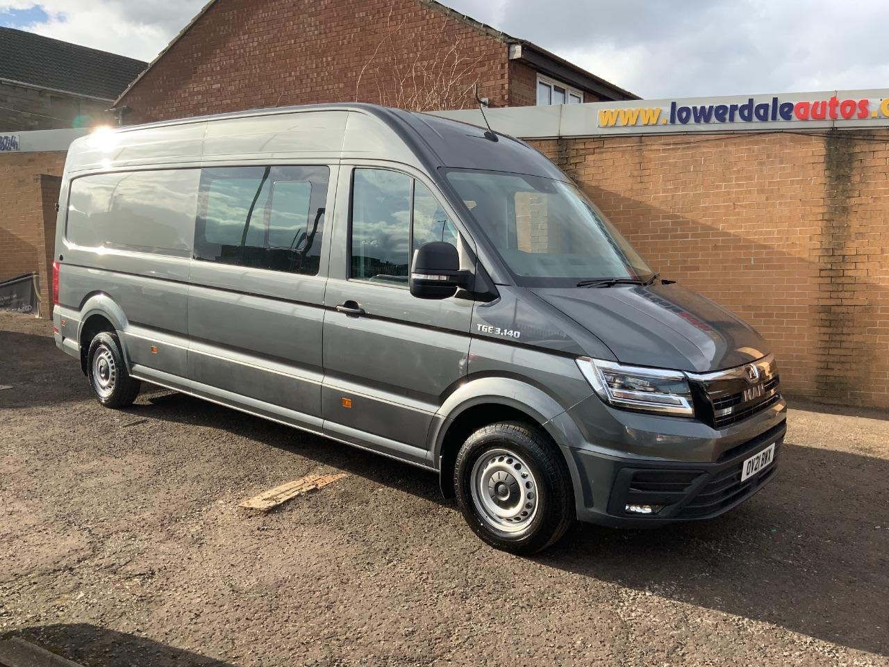 Man Tge 2.0 140 High Roof Van Box Van Diesel Grey