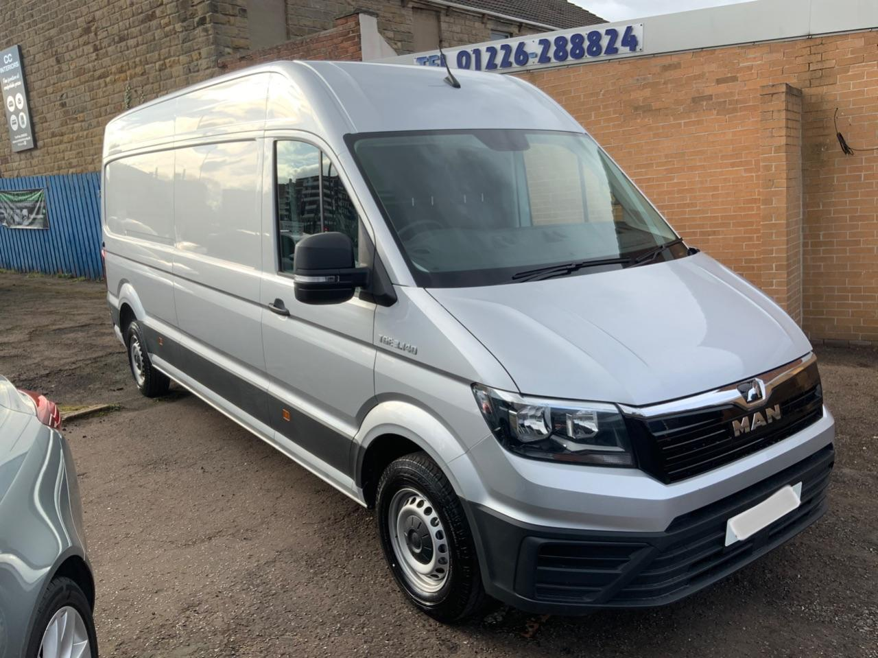 Man Tge 2.0 140 High Roof Van Box Van Diesel Silver
