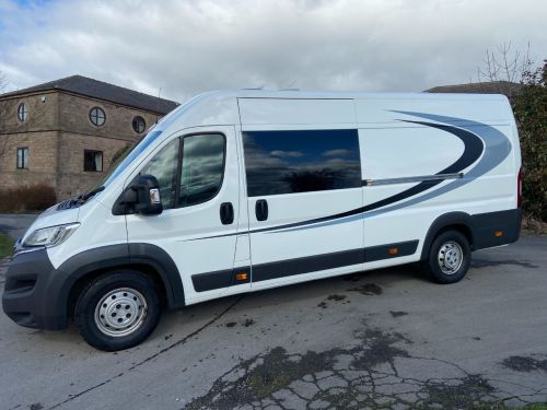 Citroen Relay 2.2 HDi H2 Van 130ps Enterprise Motorhome Diesel White