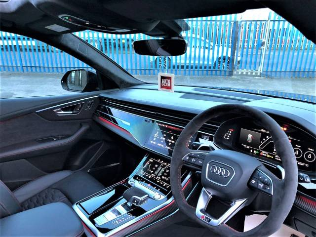 Audi Rs Q8 4.0 VORSPRUNG EDITION HUGE SPEC 1 OWNER AUDI WARRANTY AS NEW Four Wheel Drive Petrol Daytona Grey