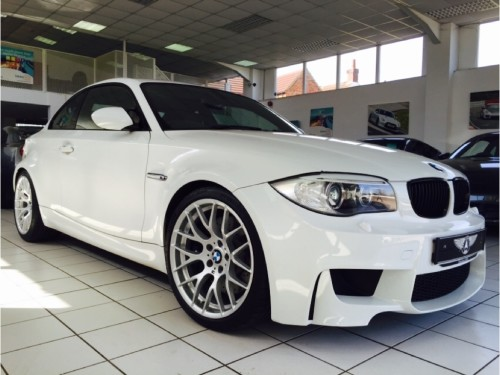 BMW 1 Series 3.0 M 2dr Coupe Petrol White