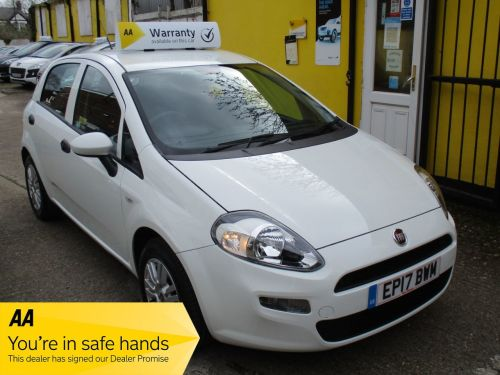 Fiat Punto 1.2 Pop+ 5dr Alloys Low Mileage Hatchback Petrol Pearl White