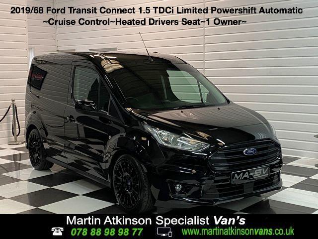 Ford Transit Connect 1.5 EcoBlue 120ps Limited Van Powershift Panel Van Diesel Shadow Black