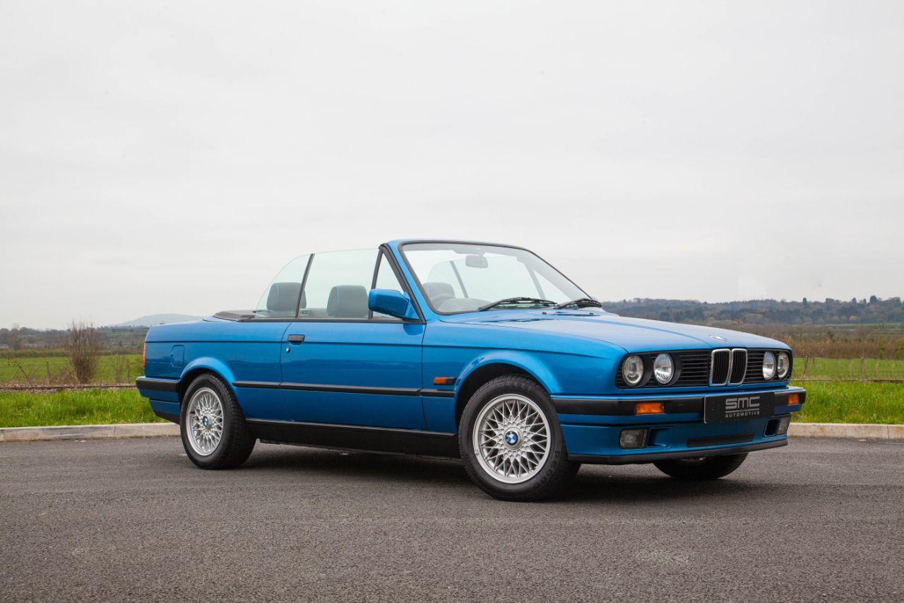 BMW 3 Series 1.8 E30 Cabriolet Motorsport Design Edition Convertible Petrol Blue