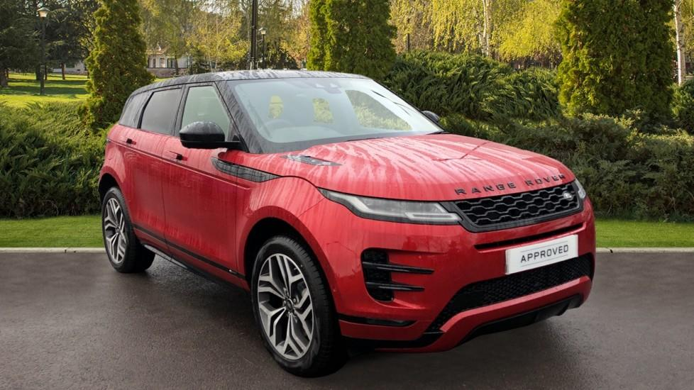Land Rover Range Rover Evoque 0.0 1.5 P300e R-Dynamic HSE 5dr Auto Hatchback Petrol / Electric Hybrid FIRENZE RED