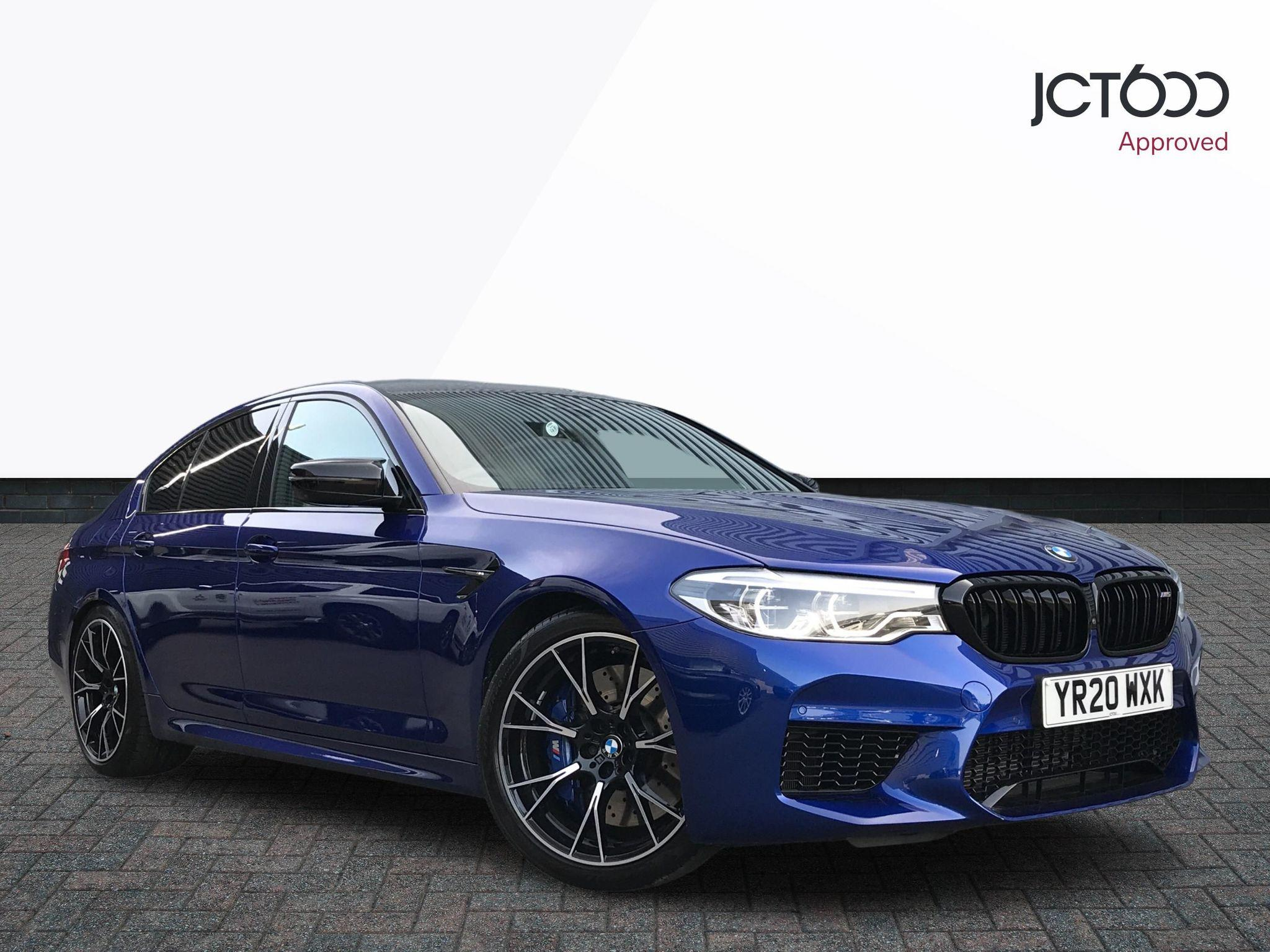BMW 5 Series 4.4 M5 COMPETITION Saloon Petrol Blue
