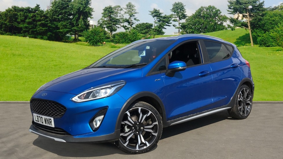 Ford Fiesta 0.0 1.0 EcoBoost 125ps Active X Edition 5dr