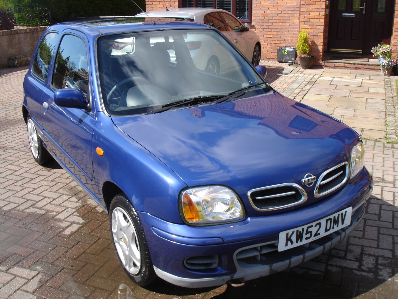 Nissan Micra 1.0 Tempest 3dr Hatchback Petrol Tempest Blue Metallic at Level Pitch Selby