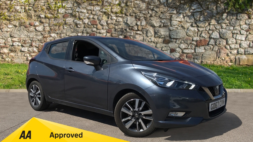 Nissan Micra 0.0 1.0 Acenta 5dr with Navigation and Reverse Camera
