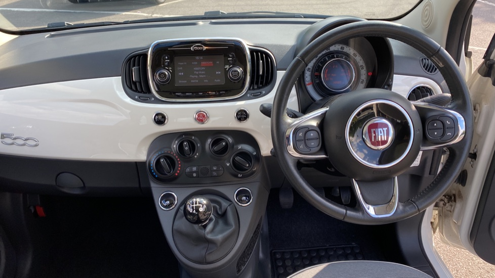 Fiat 500 0.0 1.2 Lounge 3dr - Glass Roof  C