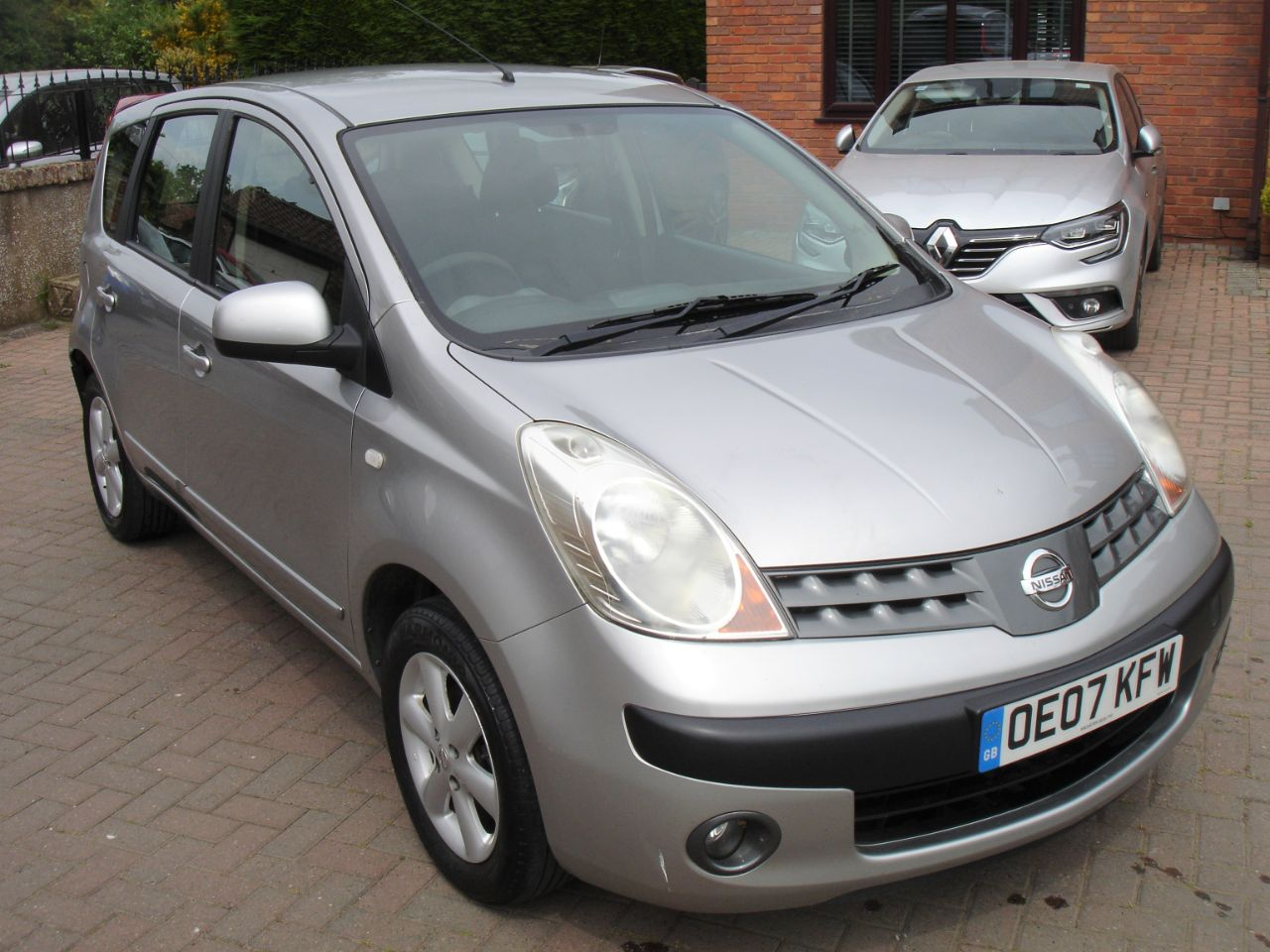Nissan Note 1.4 SE 5dr MPV Petrol Silver at Level Pitch Selby