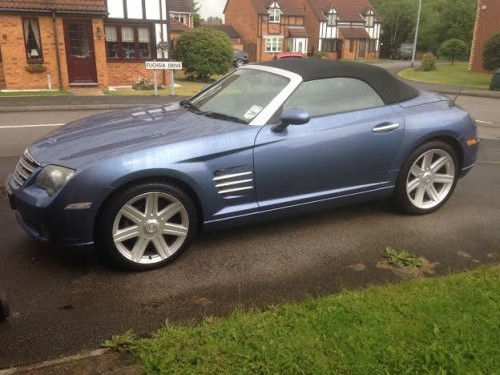 Chrysler Crossfire 3.2 V6 CONVERTIBLE PETROL BLUE