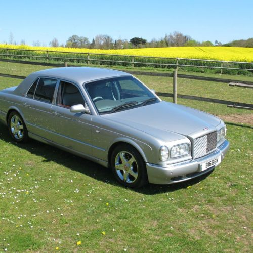 Bentley Arnage 6.8 auto Red Label 54,000 miles Saloon Petrol Silver