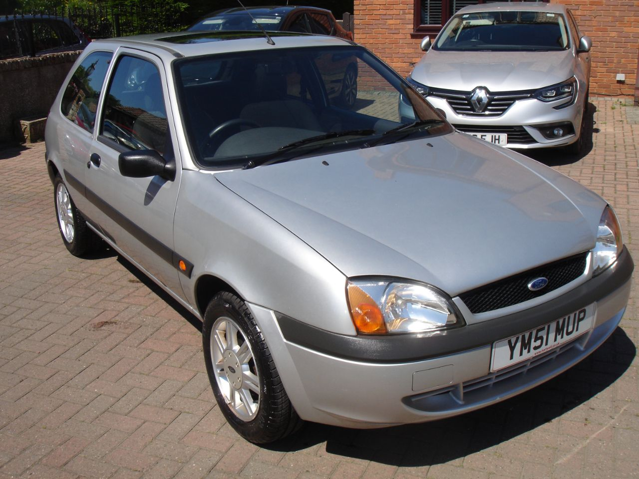 Ford Fiesta 1.3 Flight 3dr Hatchback Petrol Silver at Level Pitch Selby