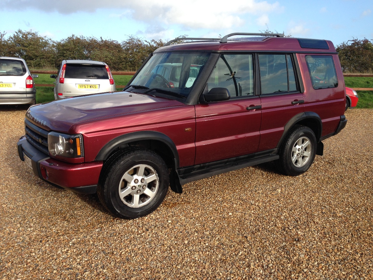 second hand land rover discovery 2 5 td5 gs 7 seater. Black Bedroom Furniture Sets. Home Design Ideas