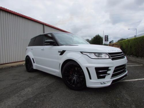 Land Rover Range Rover Sport 3.0 SDV6 5dr Auto Lumma CLR RS wide body Estate Diesel White