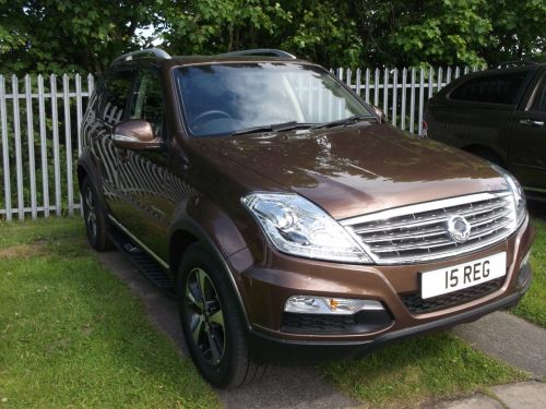 SsangYong Rexton W 2.0 ELX Four Wheel Drive Diesel Jazz Brown