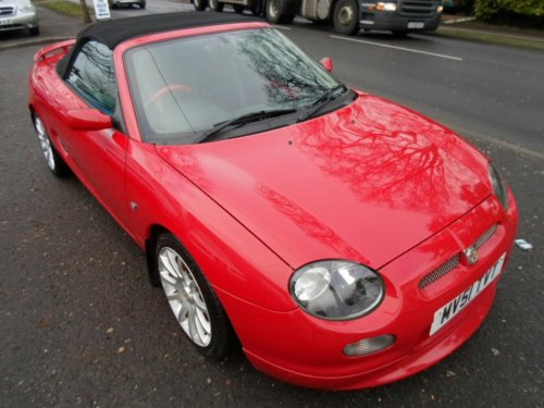 MG MGF 1.8I VVC TROPHY 160 2DR Convertible Petrol Red