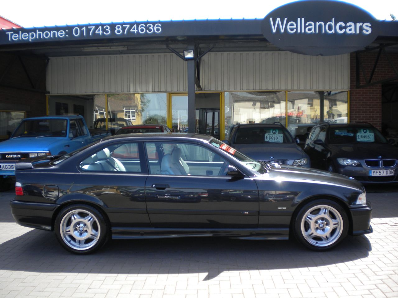BMW M3 3.2 M3 Evolution 2dr 6 Speed Manual, 2 Owners, F/S/H, New MOT, A/C Coupe Petrol Black at Welland Cars Shrewsbury