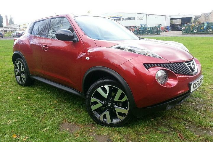 Nissan Juke 1.5TD N-Tec Hatchback Diesel Metallic - Force red