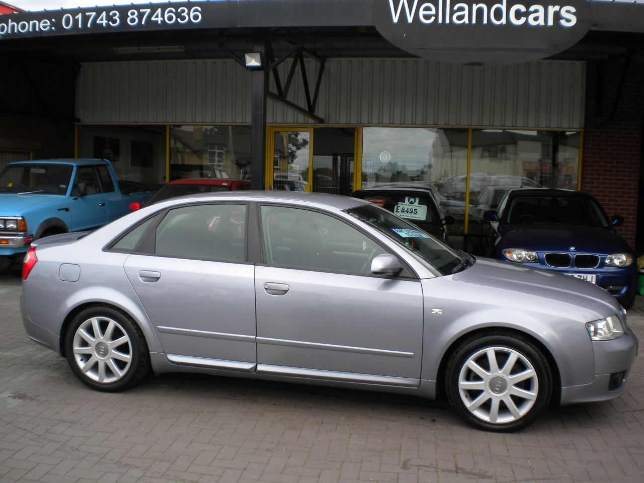 Audi A4 1.8 T Limited Edition 4dr, A/C, Alloys, New MOT, # 15 MONTH PARTS AND LABOUR WARRANTY INCLUDED # Saloon Petrol Silver at Welland Cars Shrewsbury