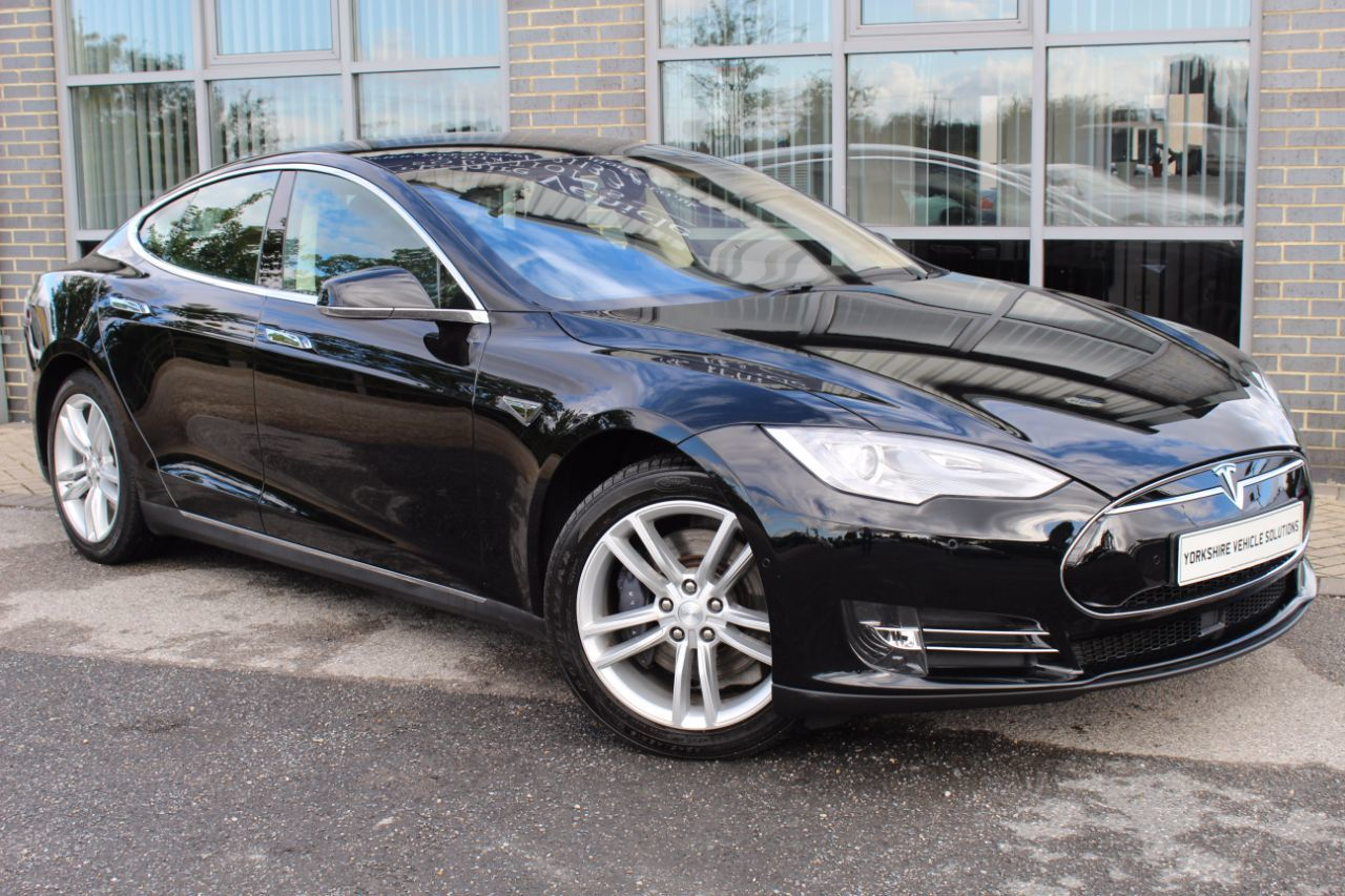 Tesla Model S 0.1 Model S 85 Hatchback Electric Black