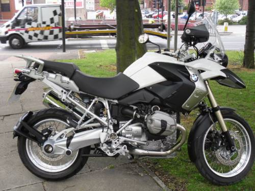 BMW R1200 1.2 R 1200 Gs Tu Tourer White